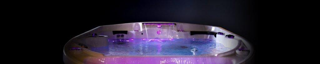 Infinity hot tub