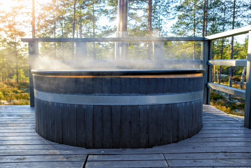 Using your Hot Tub in the Fall